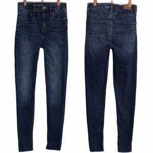 American Eagle Super High Rise Jegging Crop Jeans